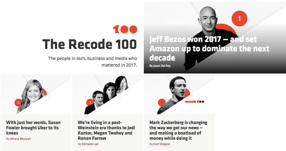 Jeff Bezos är årets viktigaste techperson