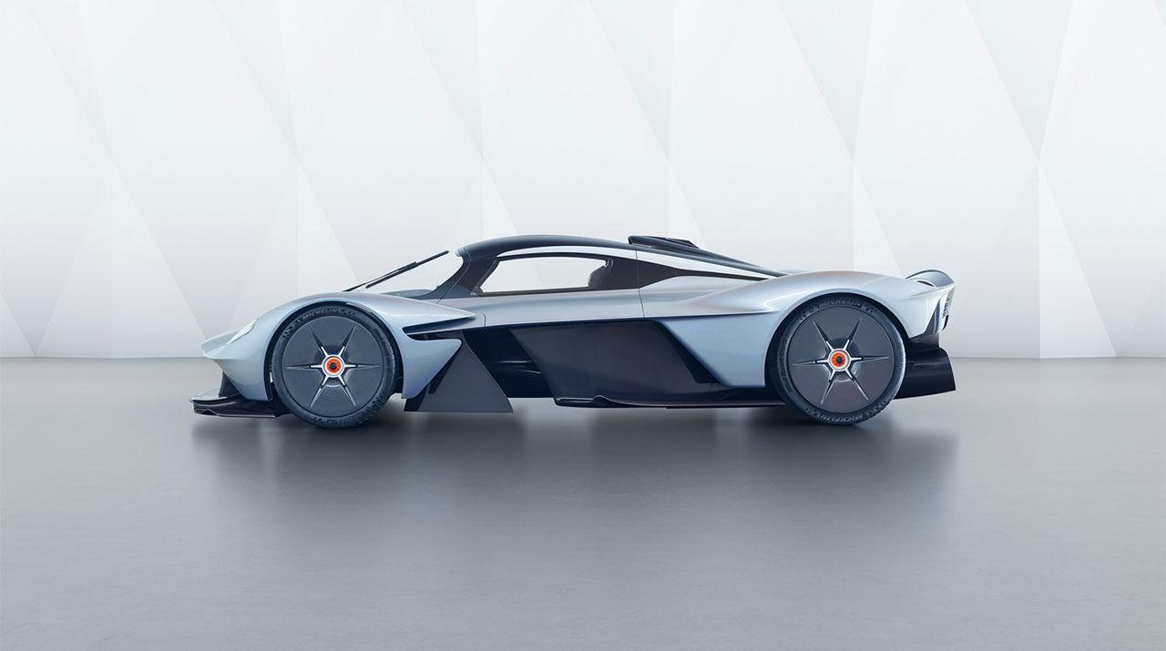 Köplats för en Aston Martin Valkyrie till salu