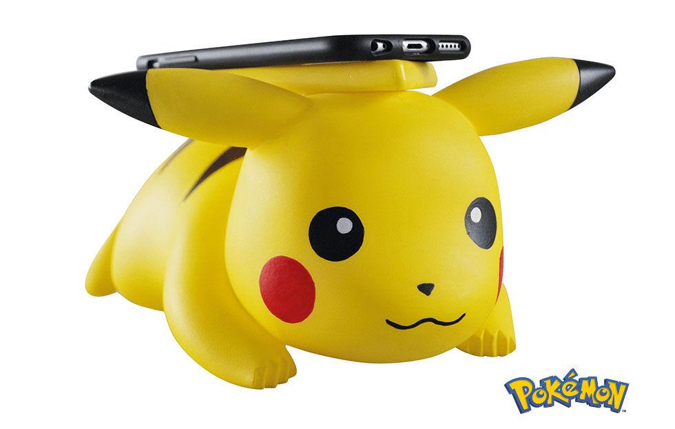 Ladda din mobil trådlöst på Pikachu