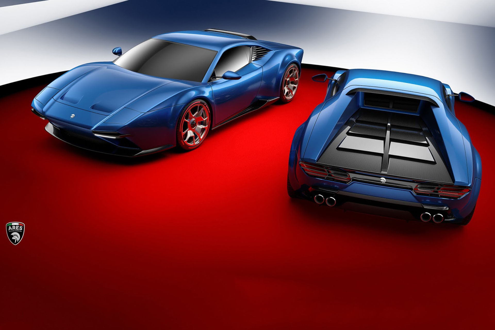 Ares Design gör en modern version av De Tomaso Pantera