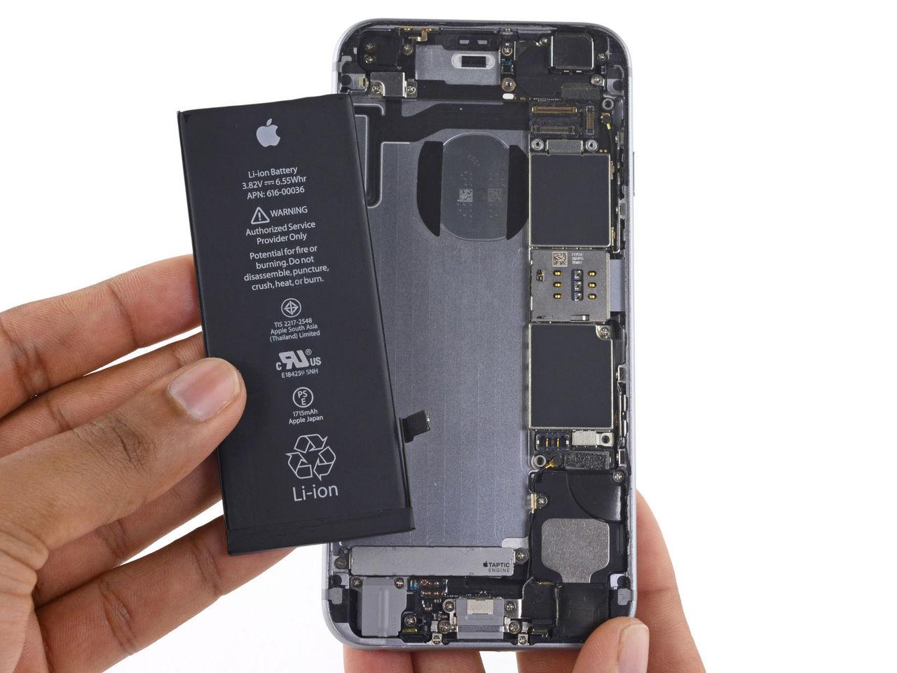 Dåliga batterier gör iPhones långsamma