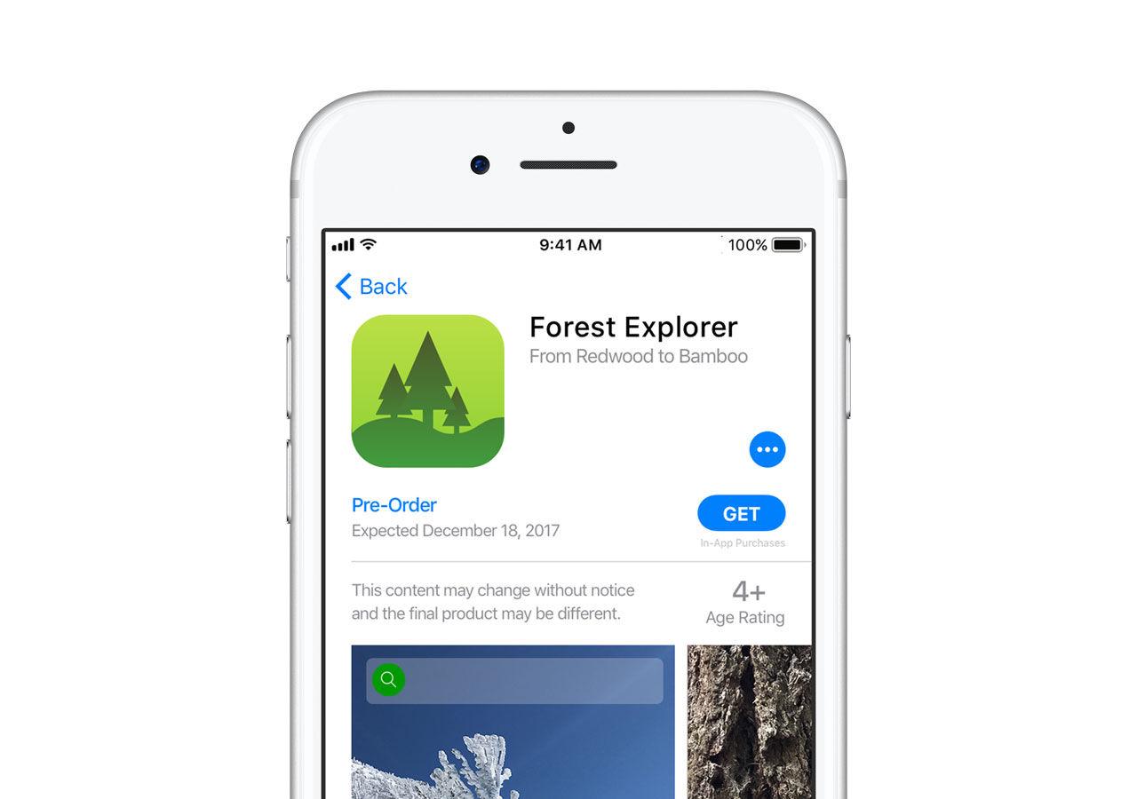 Snart kommer man kunna förköpa appar i App Store