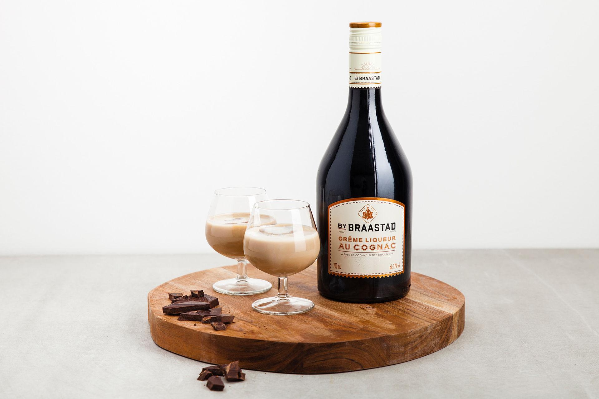 Gräddlikör med smak av Cognac