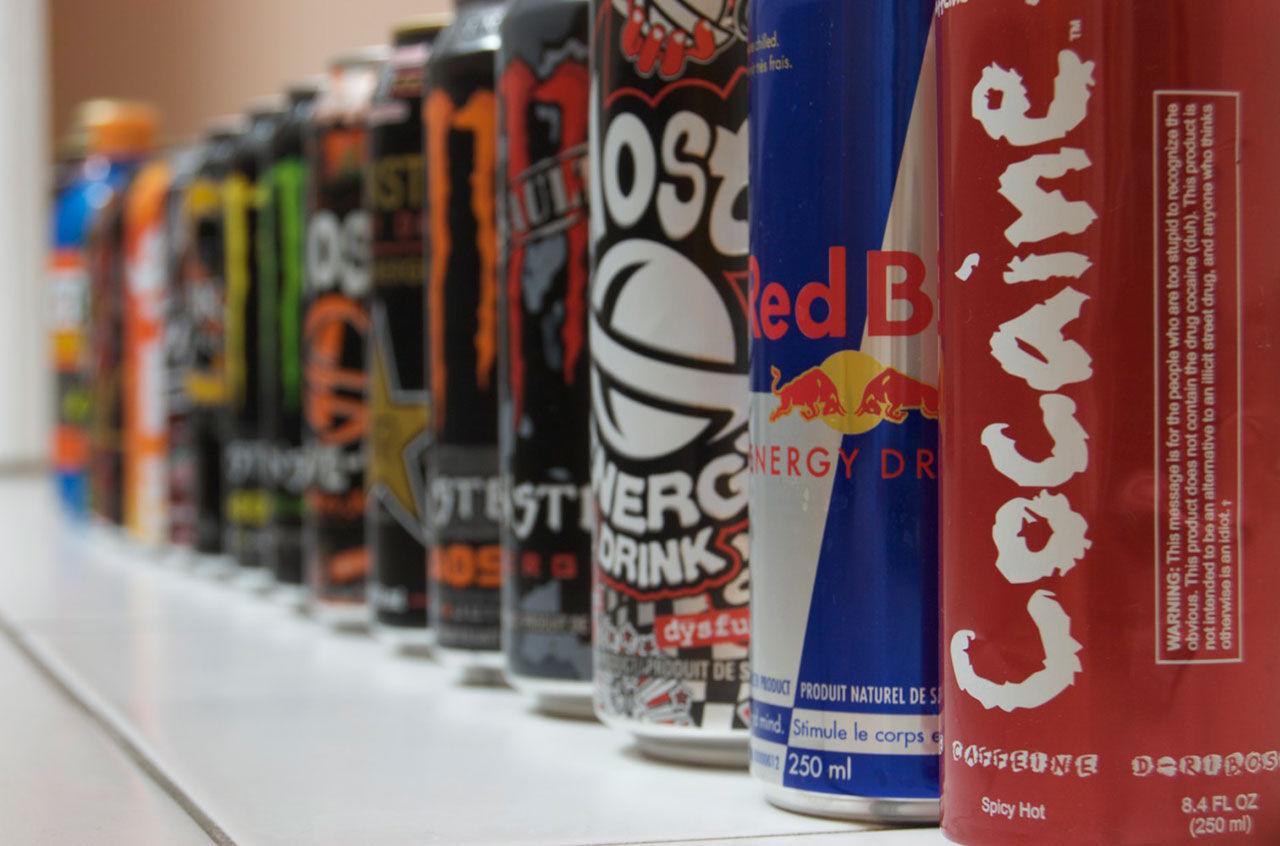 Förbjudet med energidrycker på skoltid