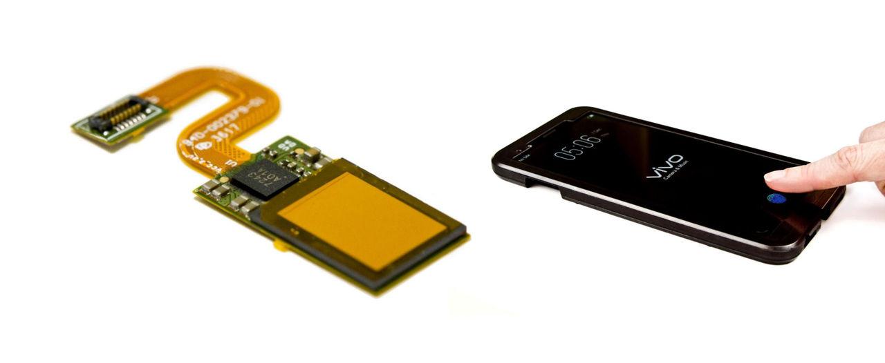 Första telefonen med fingeravtrycksläsare under skärmen