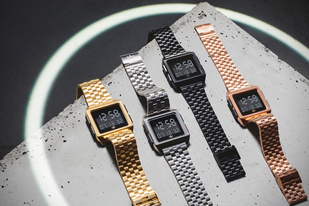 Adidas släpper trevlig klocka med retro-design
