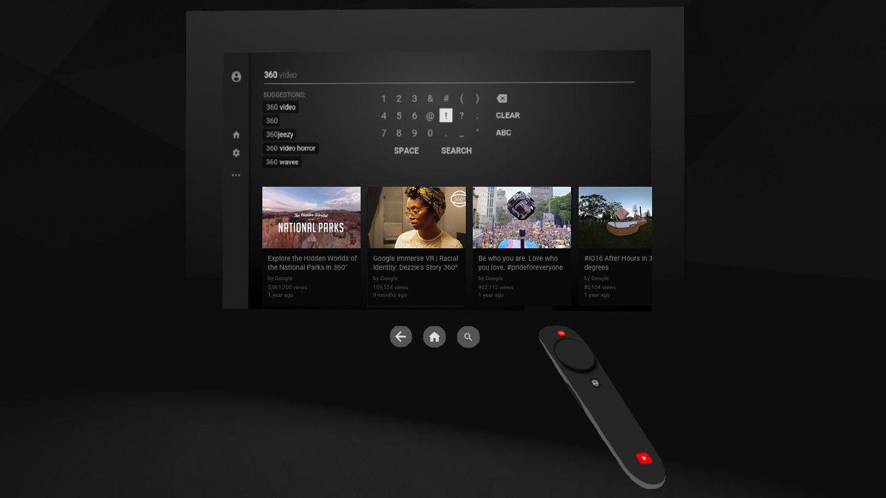 Google släpper Youtube VR till Steam VR