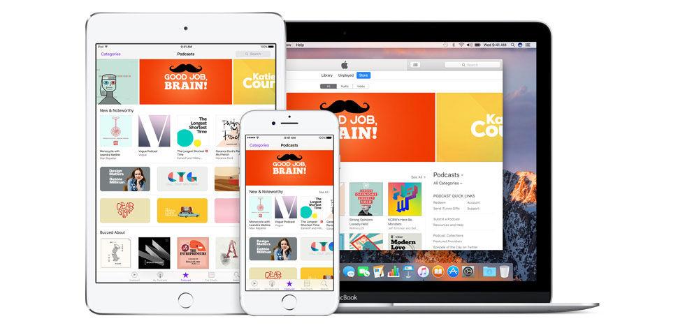 Apple släpper statistikverktyg för podcasts