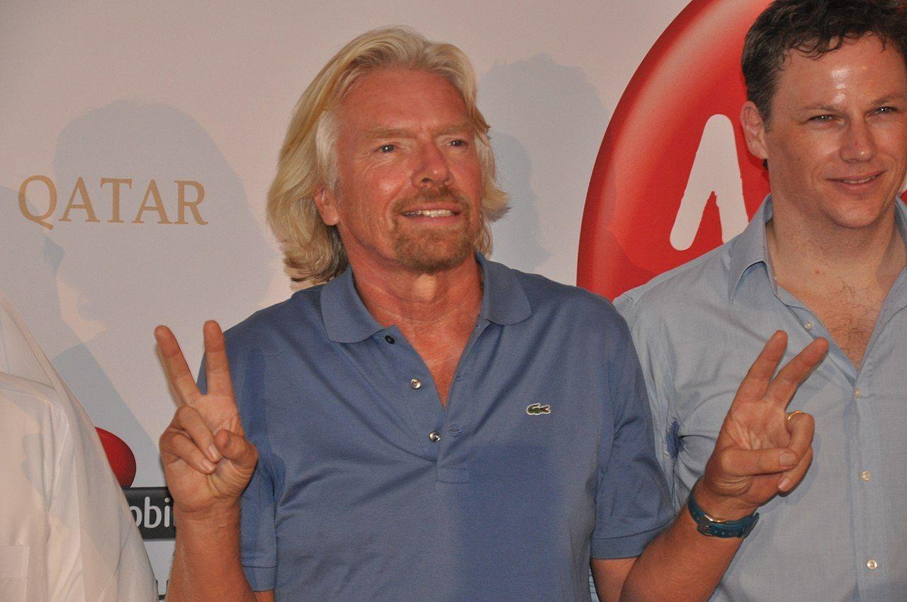 Richard Branson till Virgin Hyperloop Ones styrelse