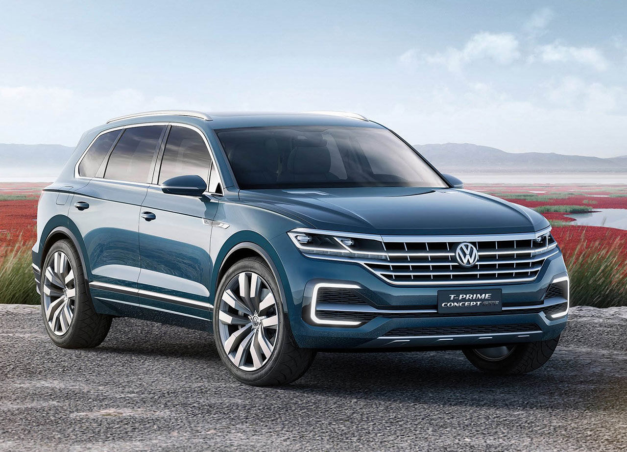 Nya Volkswagen Touareg presenteras i april 2018