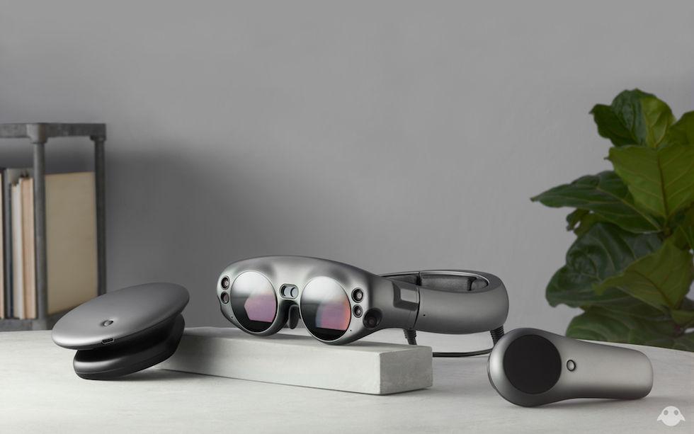 Här är en första titt på Magic Leaps AR-headset