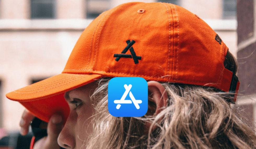 Apple stäms för App Stores logga