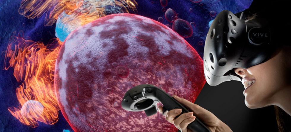 Nobelstiftelsen och HTC tar fram VR-upplevelse