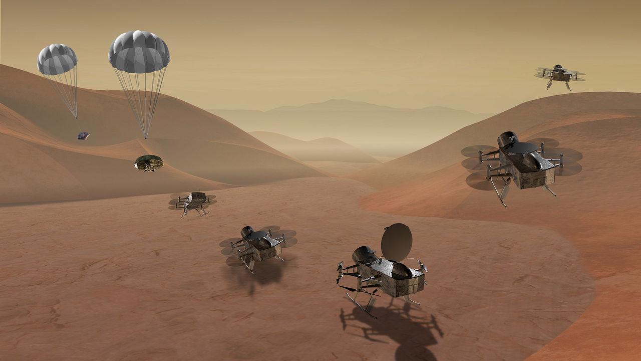 NASA har utsett finalister till framtida uppdrag