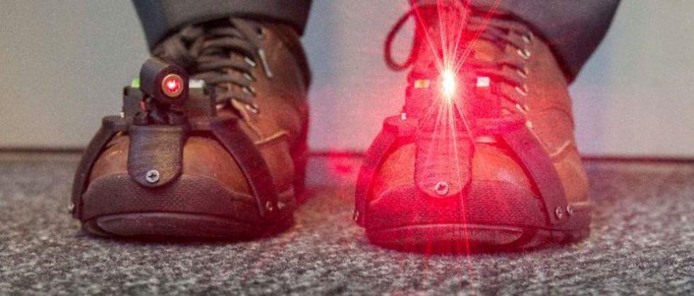 Laserskor kan hjälpa Parkinsons-patienter