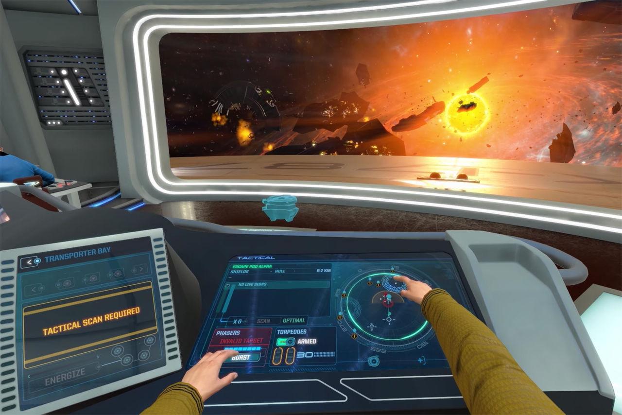 Spela Star Trek: Bridge Crew utan VR-headset