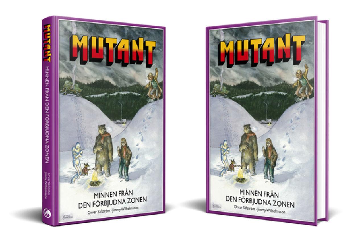 Kickstarter-kampanj för bok om rollspelet MUTANT