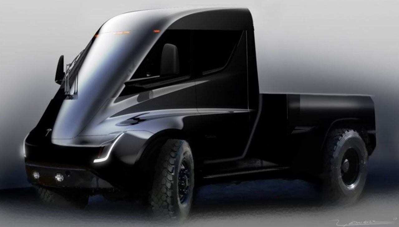 Teslas pickup kommer efter Model Y