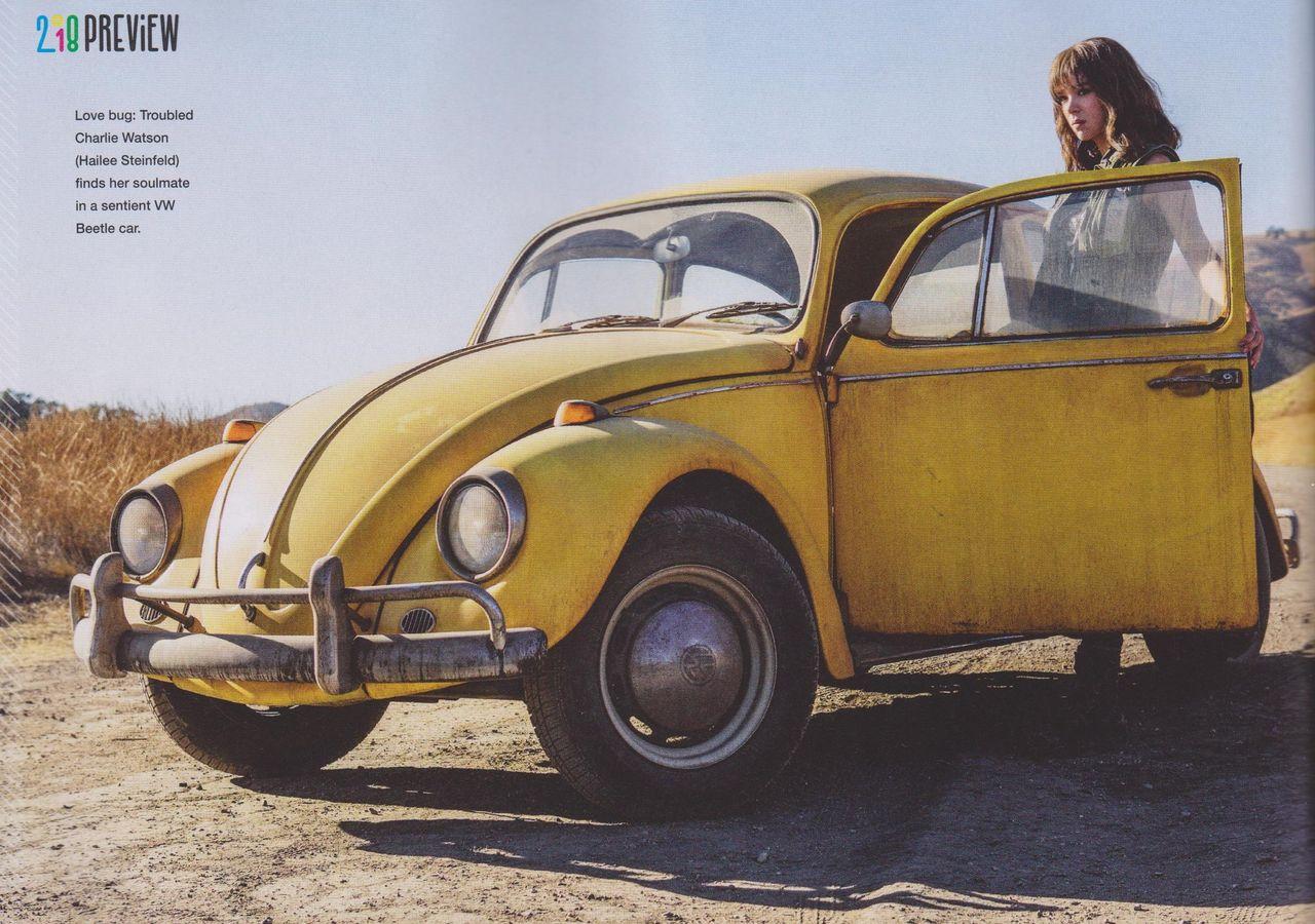 En första titt på nya Bumblebee-filmen