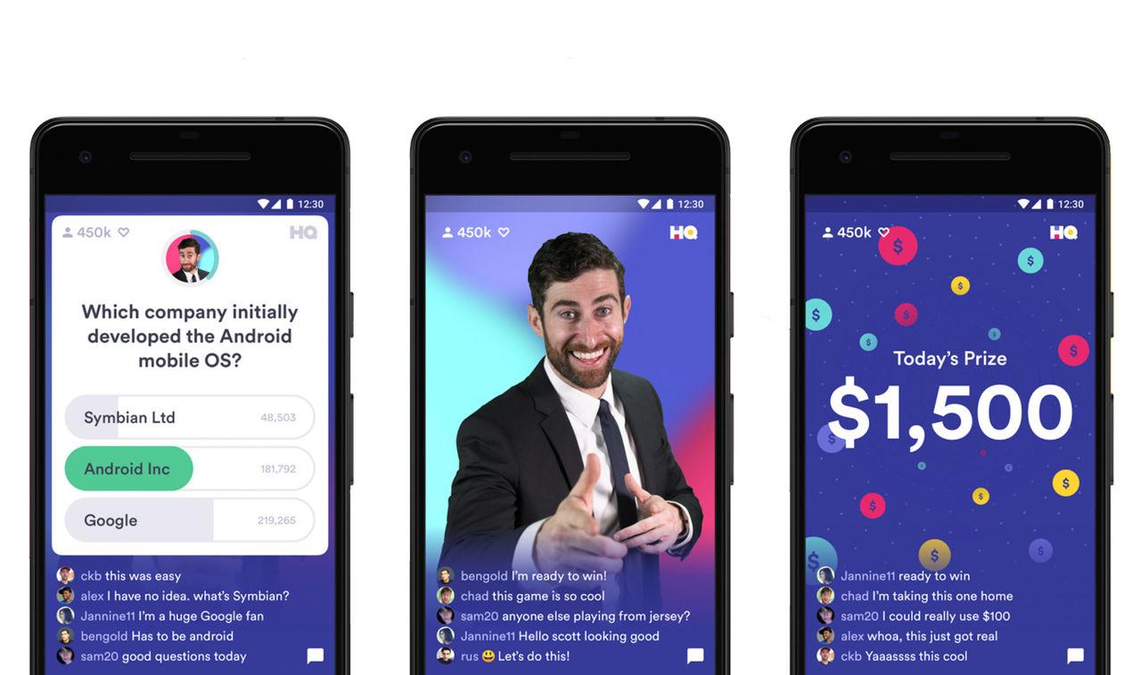 HQ Trivia kommer till Android 1 januari