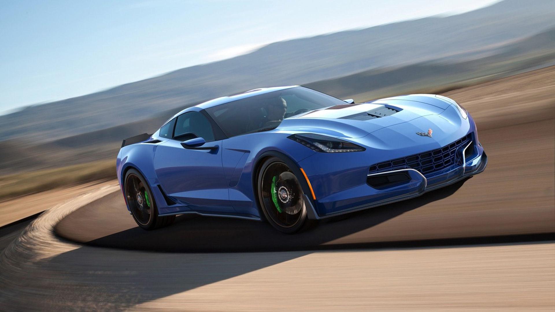 Ny version av eldriven Corvette visas i Las Vegas