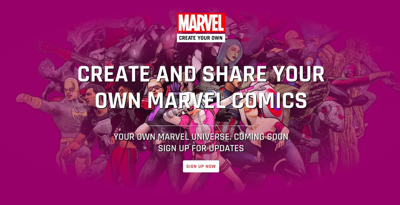 Gör din egen Marvel-serie