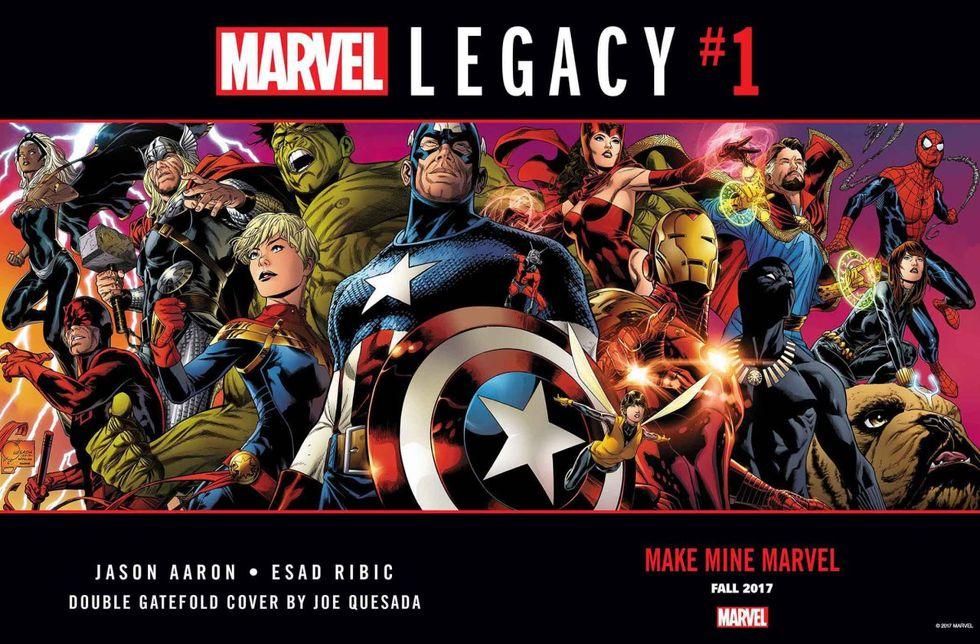 DC spöade Marvel på serietidningsmarknaden