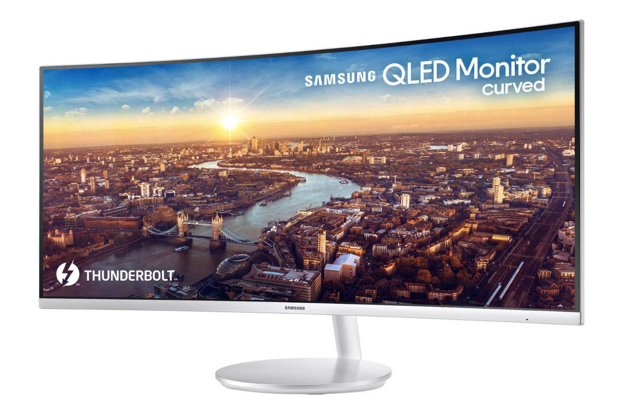 Samsung visar upp ny kurvad QLED-skärm