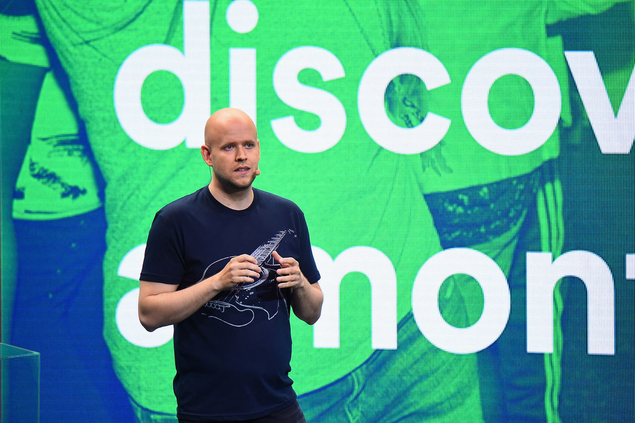 Spotify ryktas ha ansökt om börsnotering