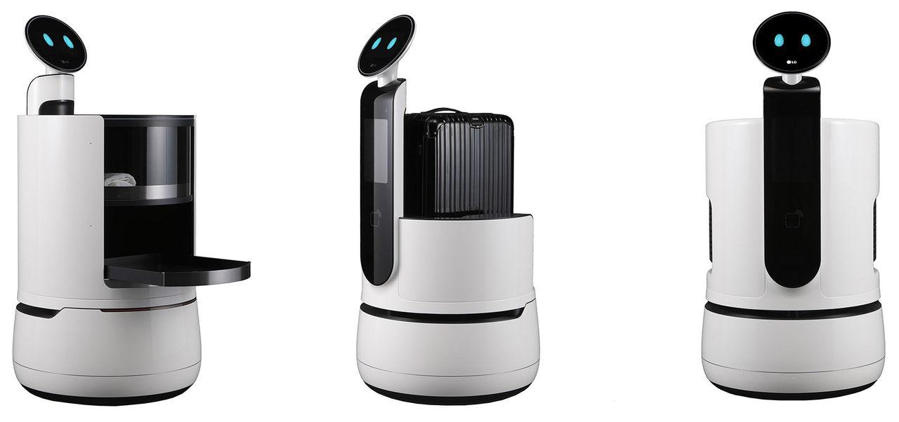 LG visar upp lite nya robotar