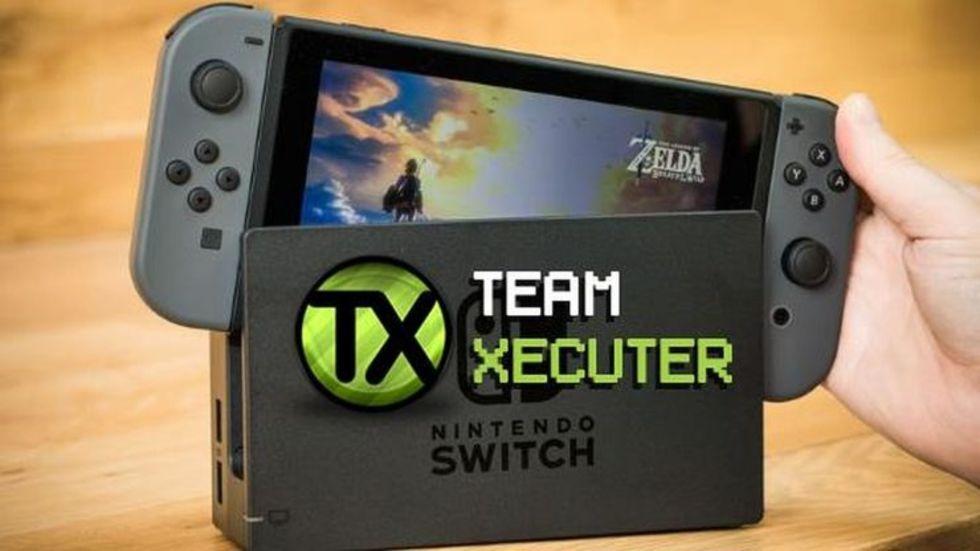 Nintendo Switch uppges vara hackad