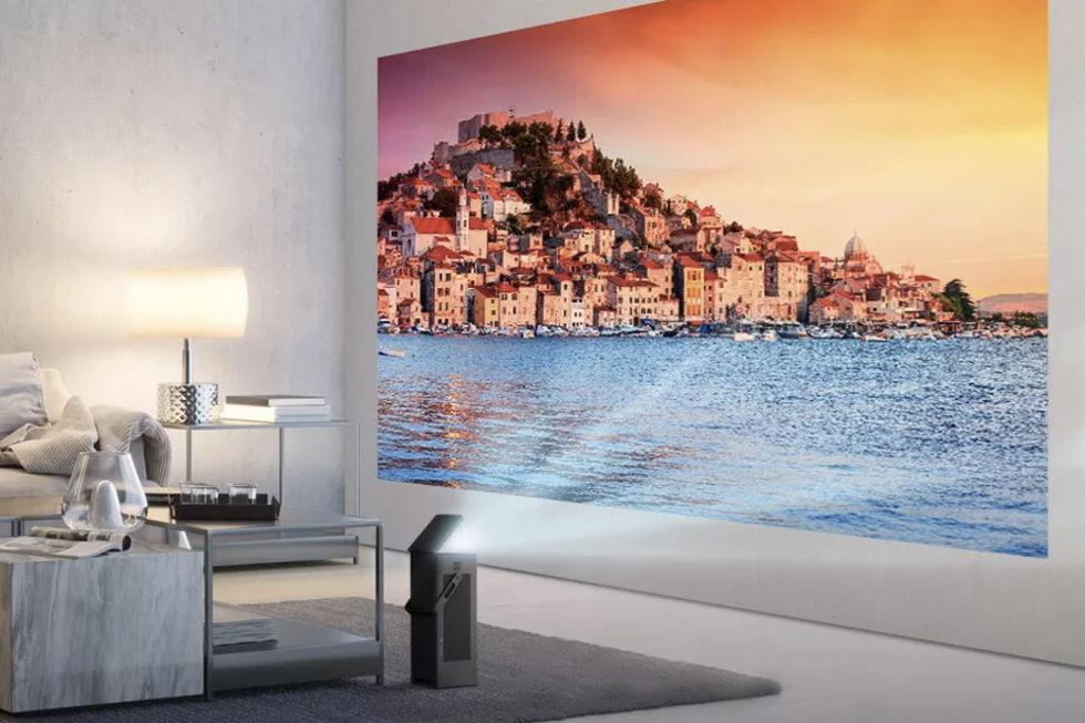 LG visar upp 4K-projektor