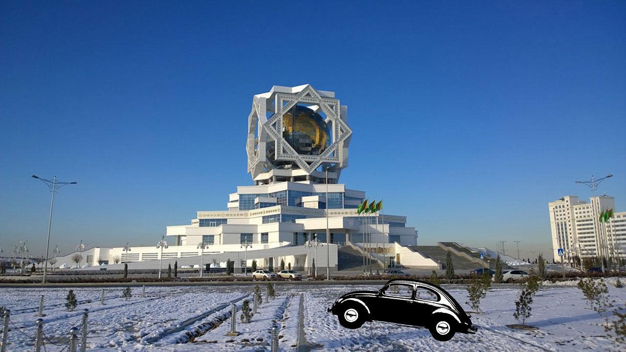 Presidenten i Turkmenistan förbjuder svarta bilar