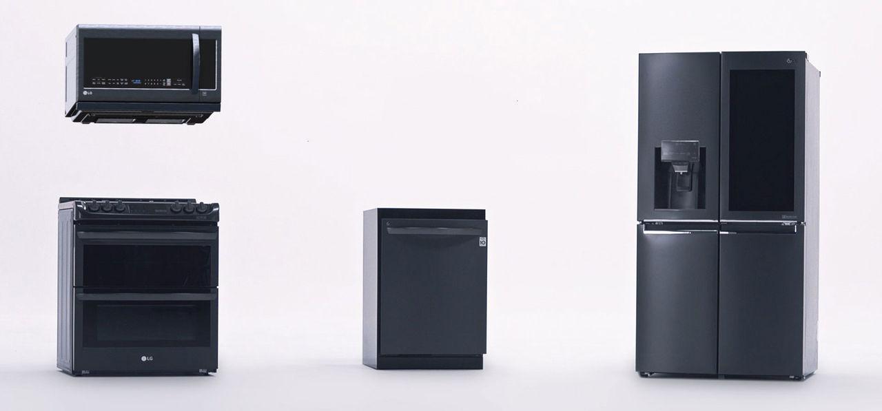 LGs kylskåp har genomskinlig skärm