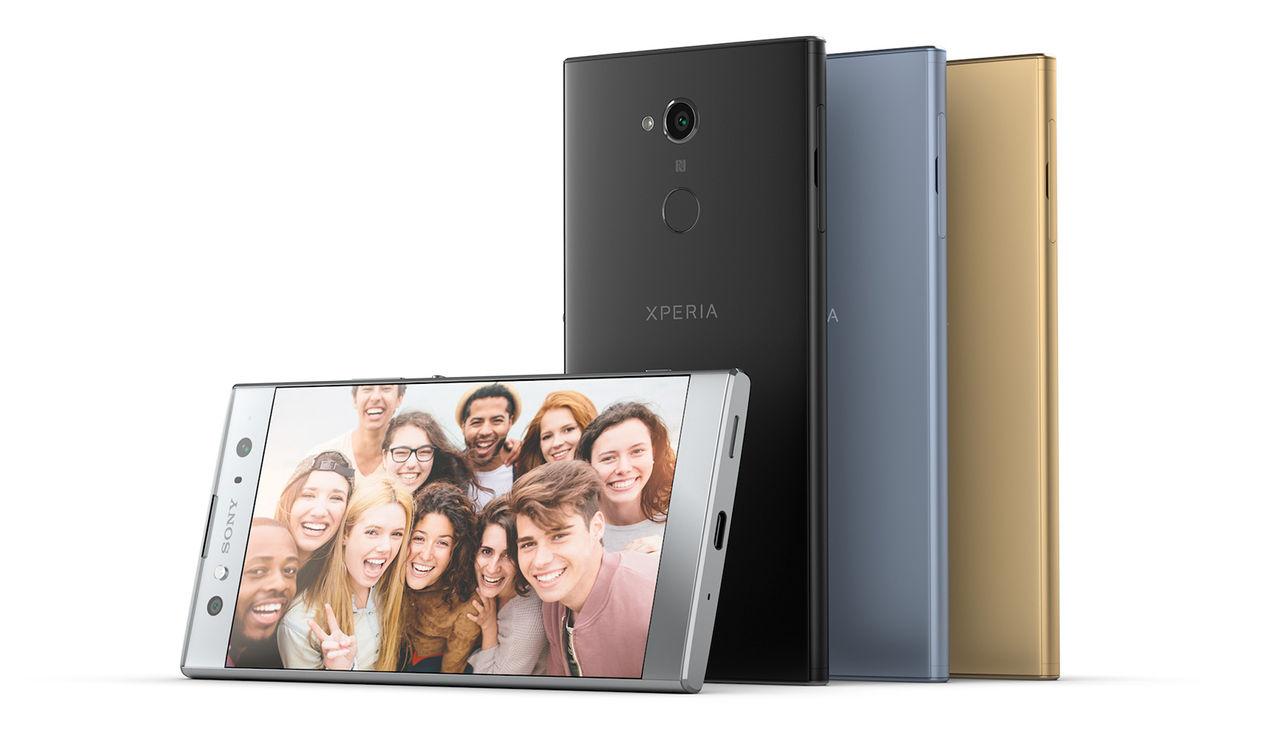 Sony presenterar XA2 och XA2 Ultra