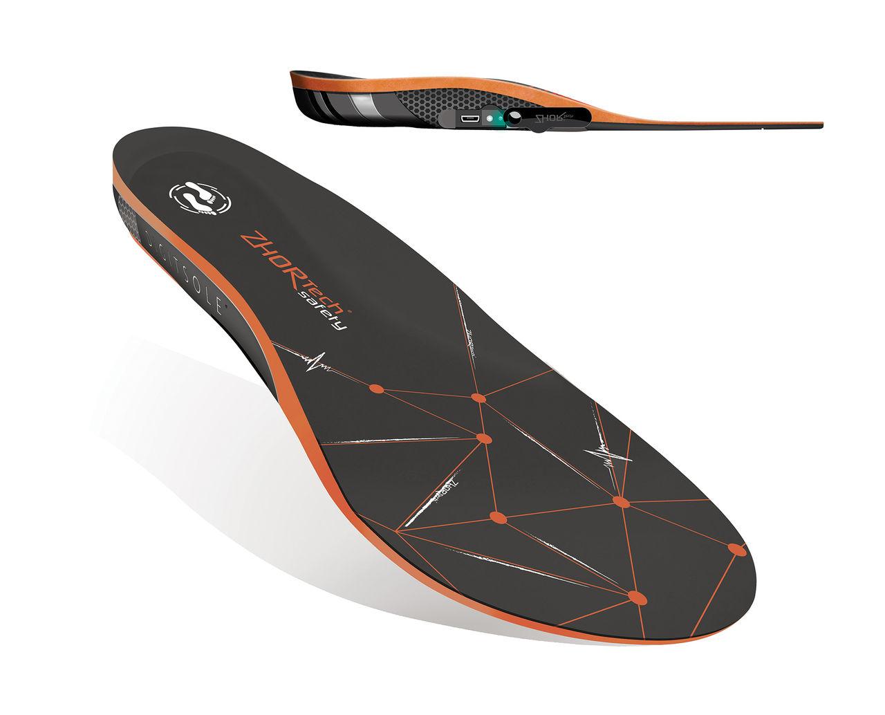Zhor Tech visar smarta iläggssulor