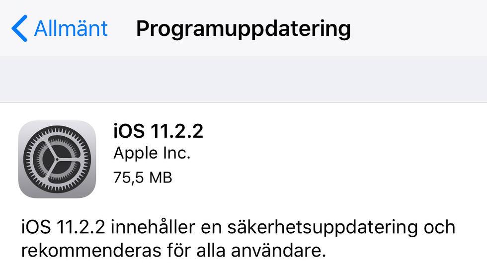 Apple uppdaterar macOS och iOS
