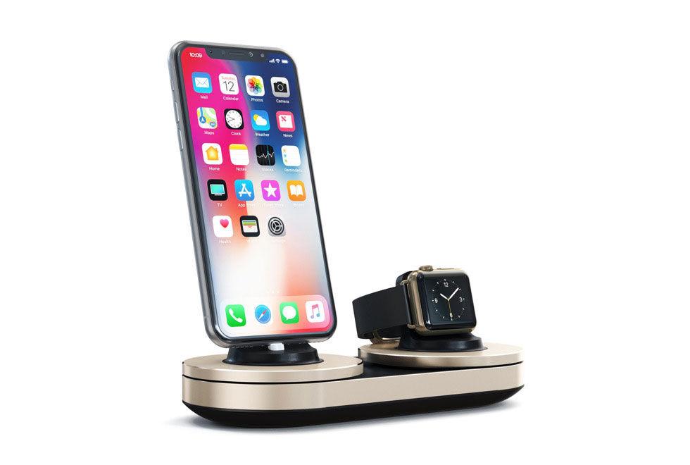 Lite annorlunda laddning för iPhone och Apple Watch