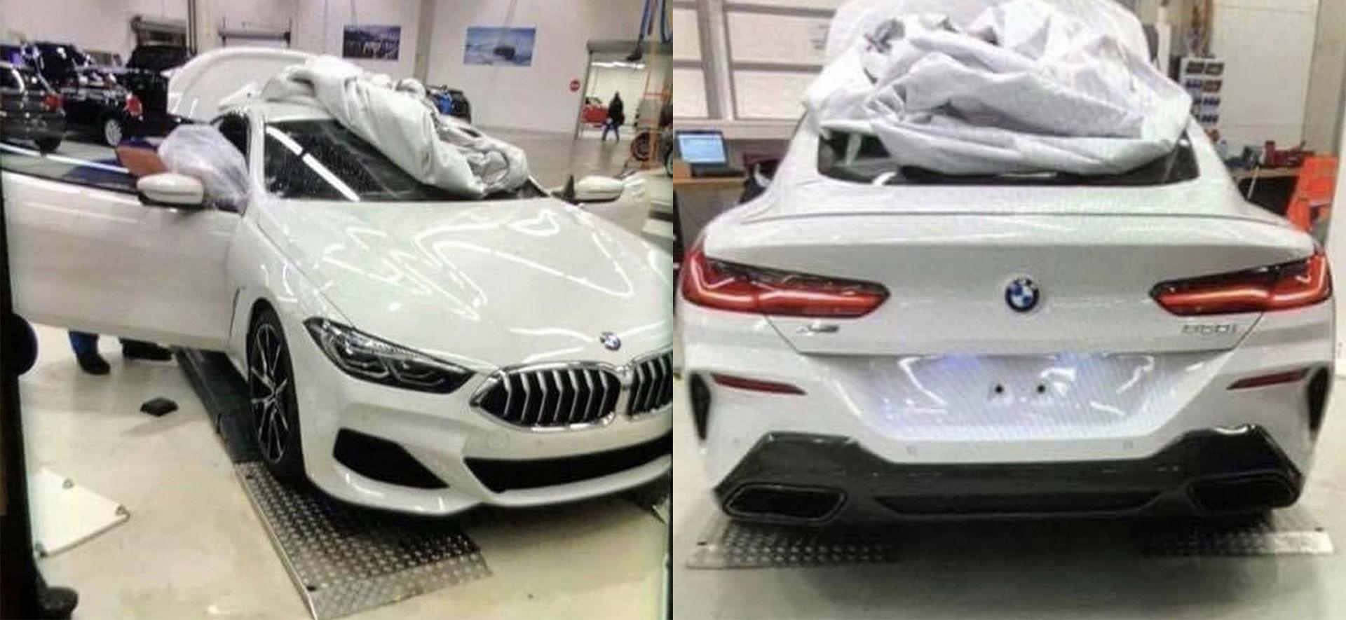 BMW 8-serie läcker ut