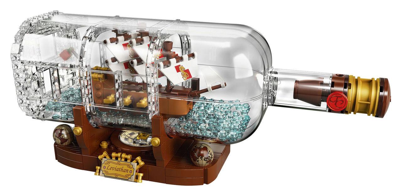Nu kan man bygga skeppet i flaskan