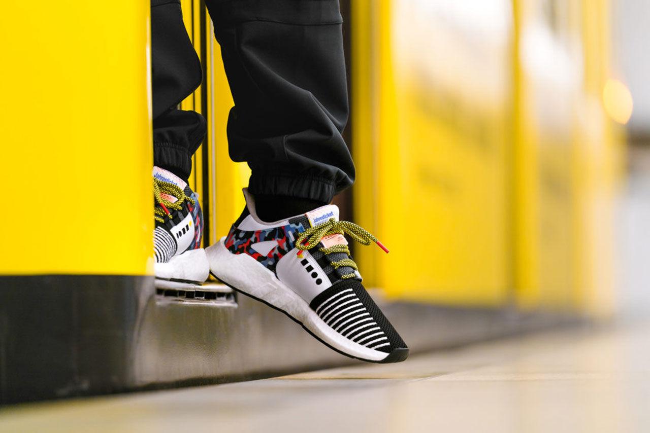 Skor med samma mönster som Berlins tunnelbana