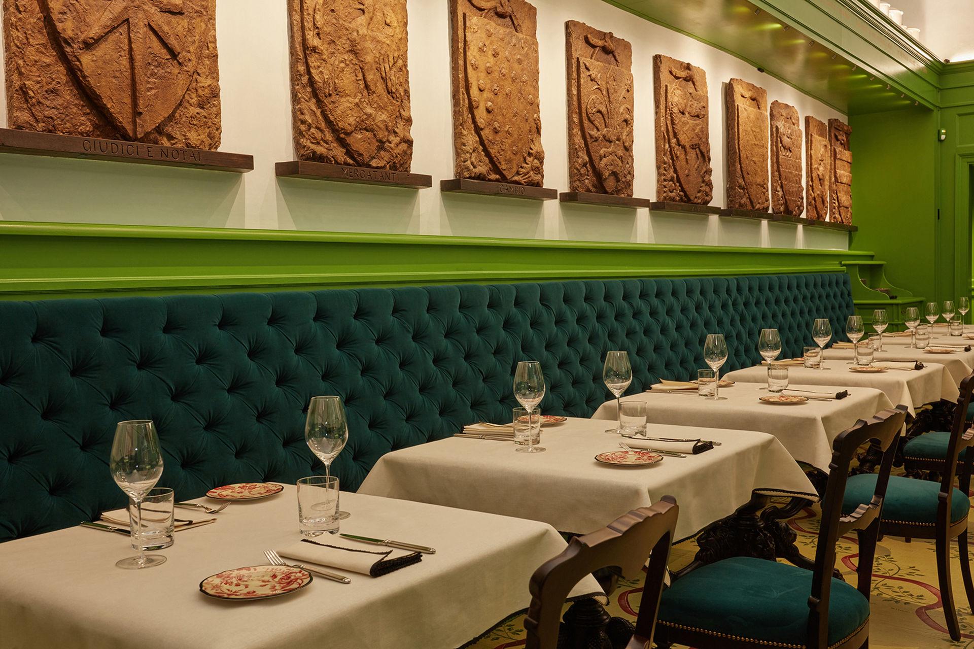 Gucci har öppnat en restaurang i Florens