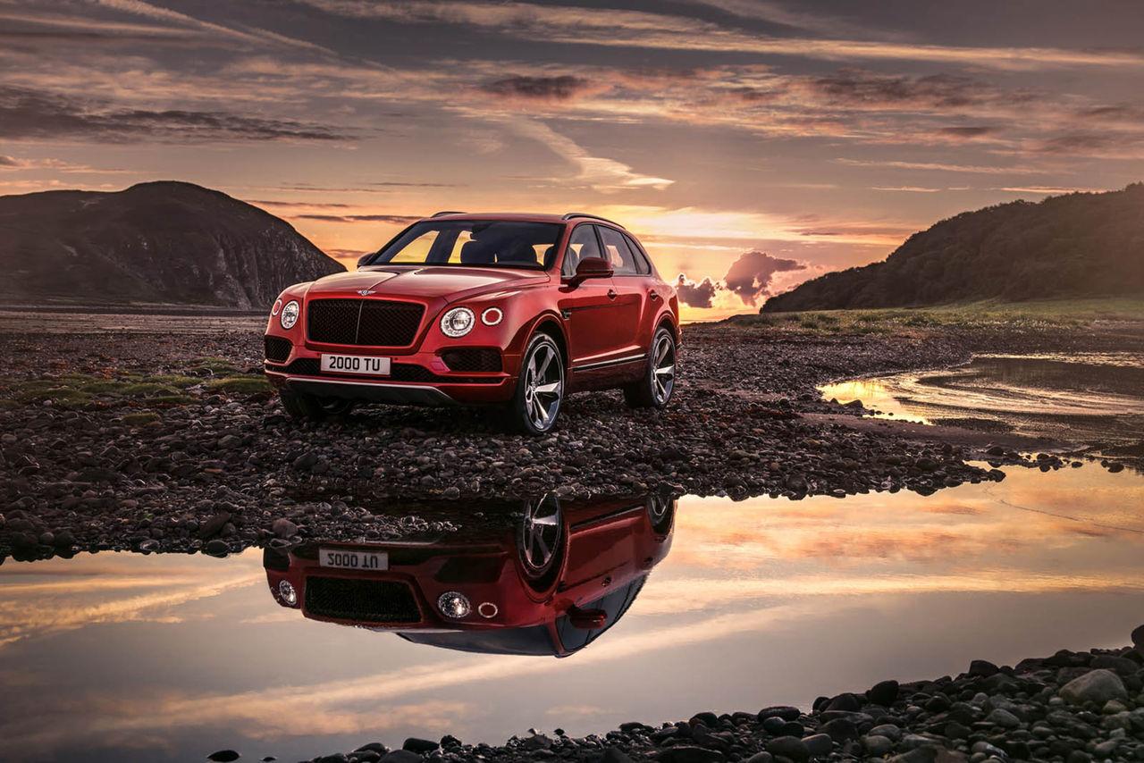 Nu kan du få Bentley Bentayga med bensin-V8:a