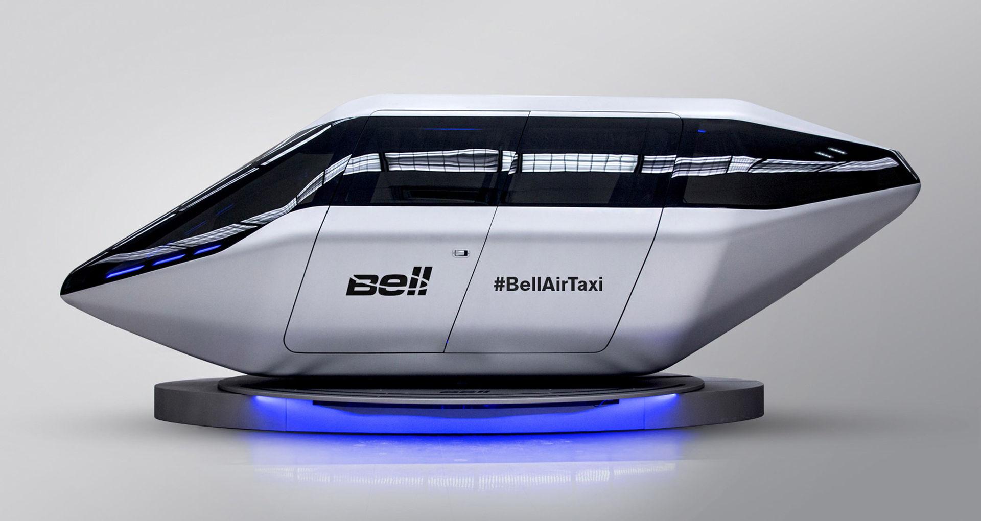 Bell visar futuristisk taxi för luften