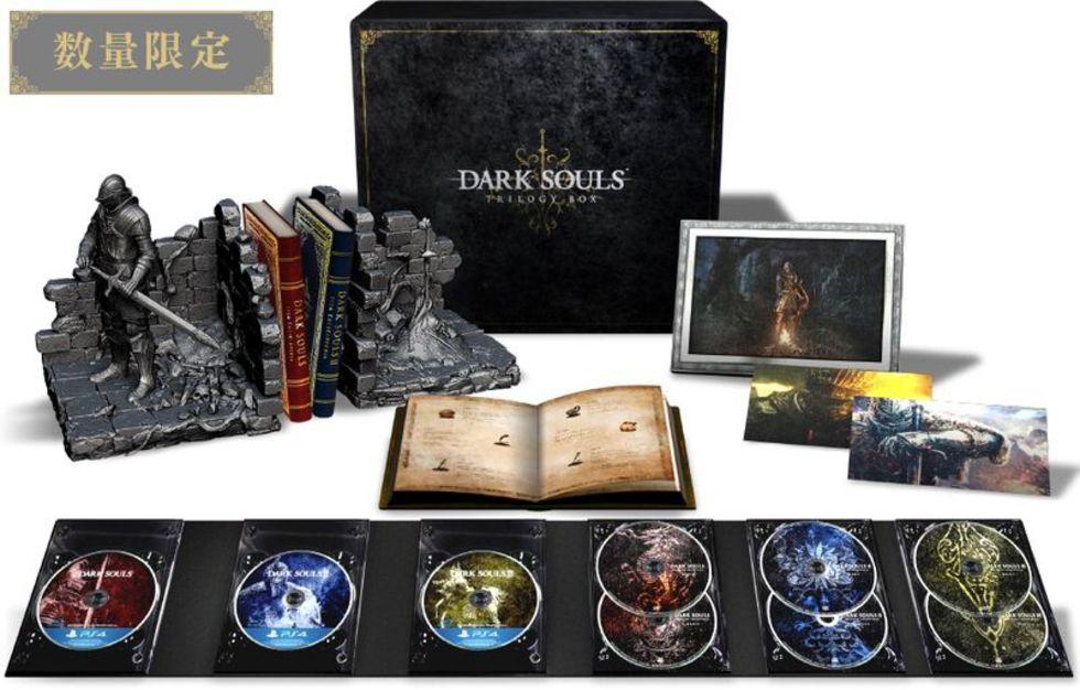 Deluxe-version av Dark Souls-trilogin på ingång