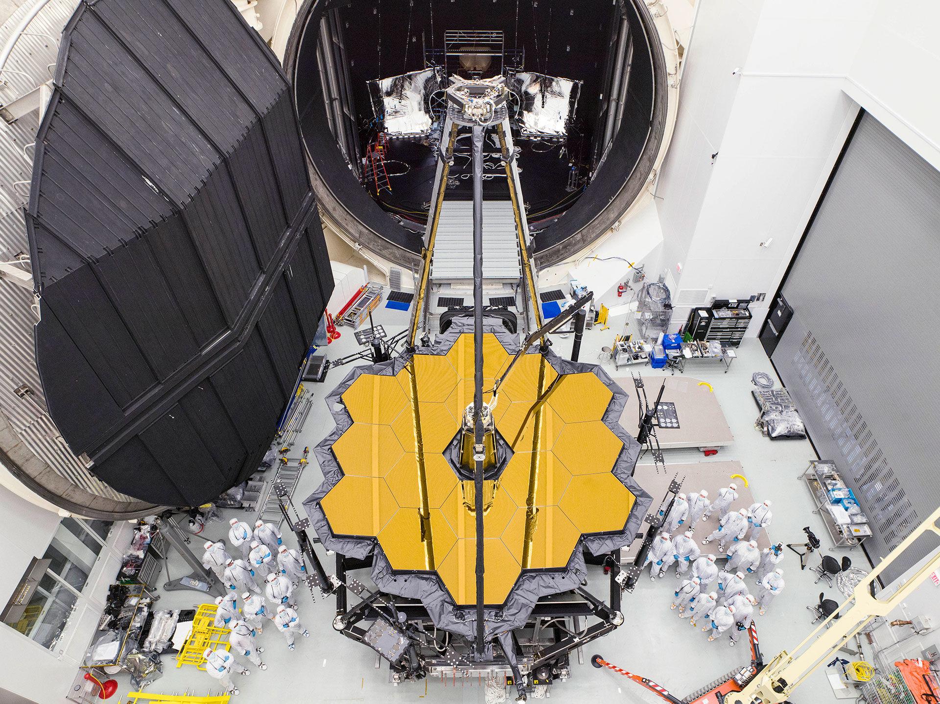 Se när NASA testar James Webb-teleskopet