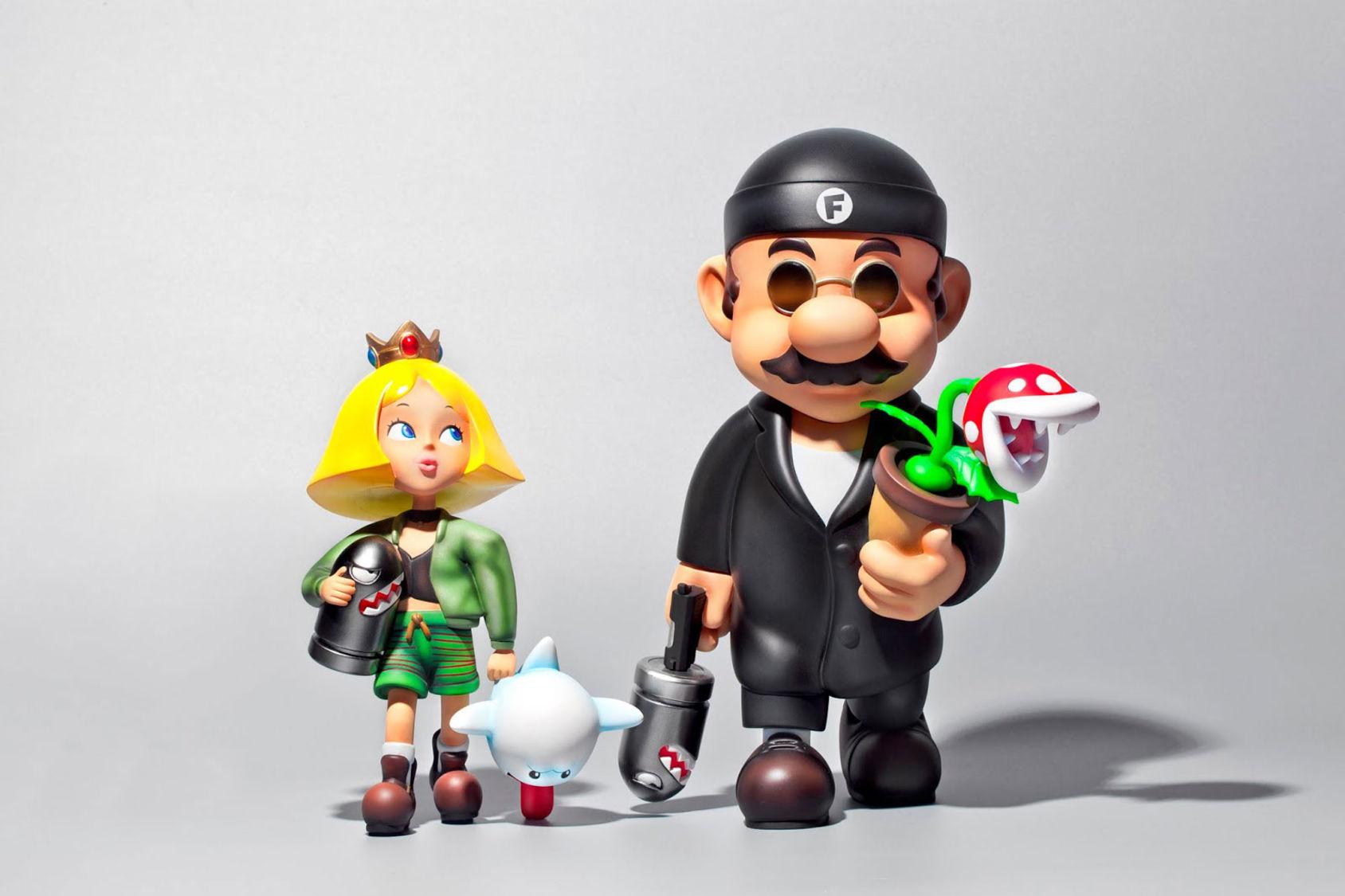 Om Mario och Peach spelade huvudrollerna i filmen Léon