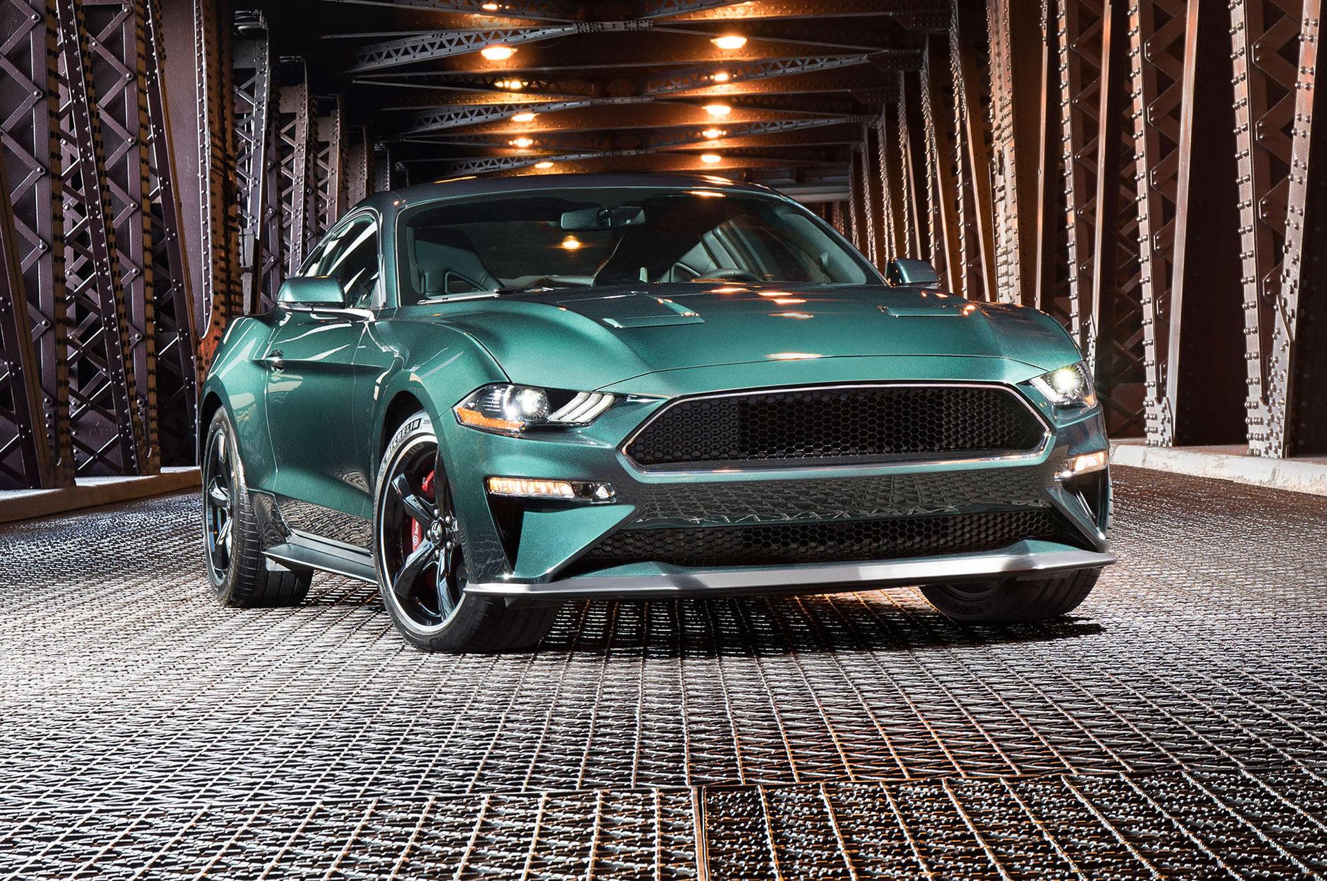 Ford presenterar ny Mustang Bullitt