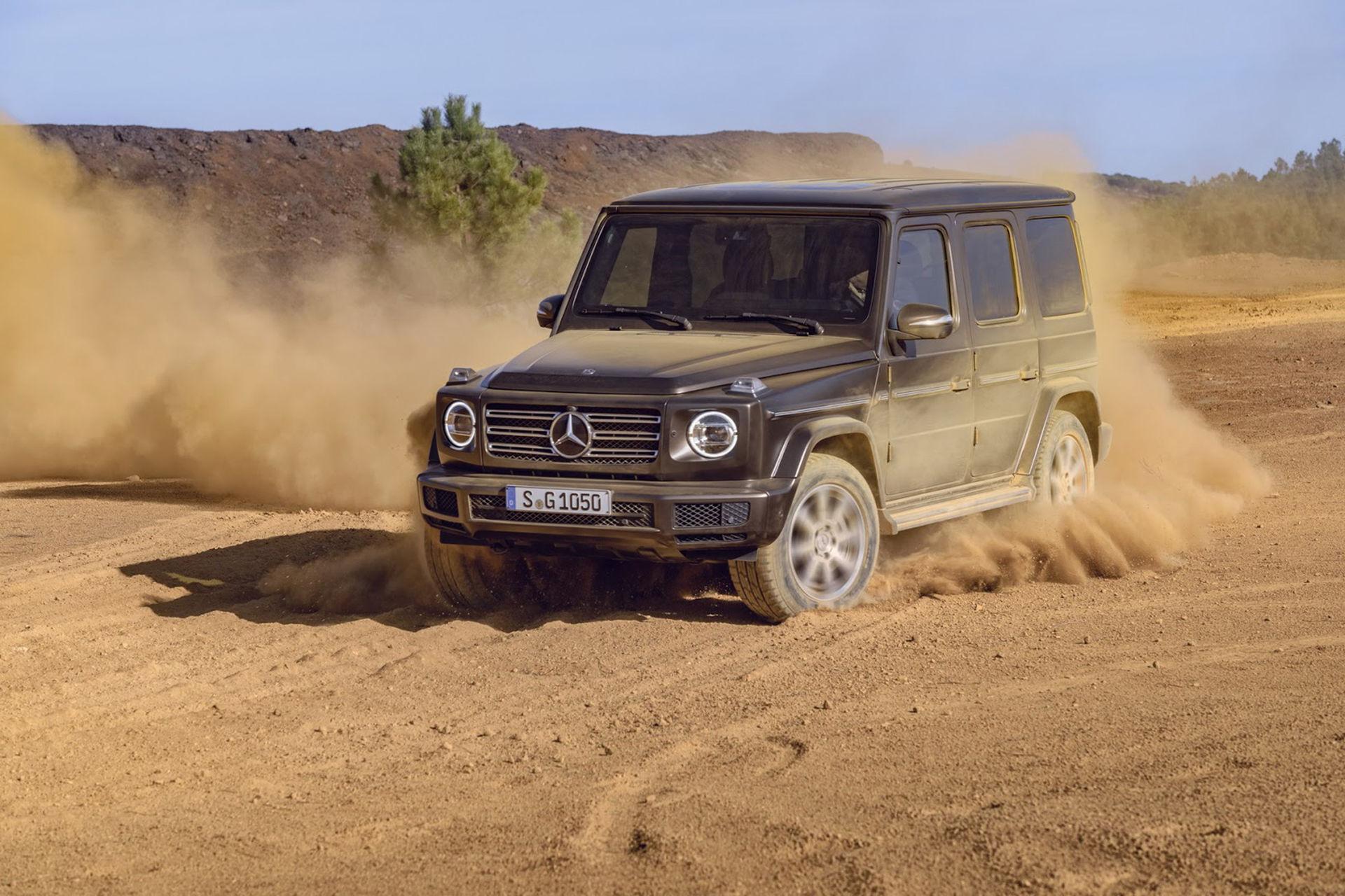 Mercedes rullar ut nya G-Klass