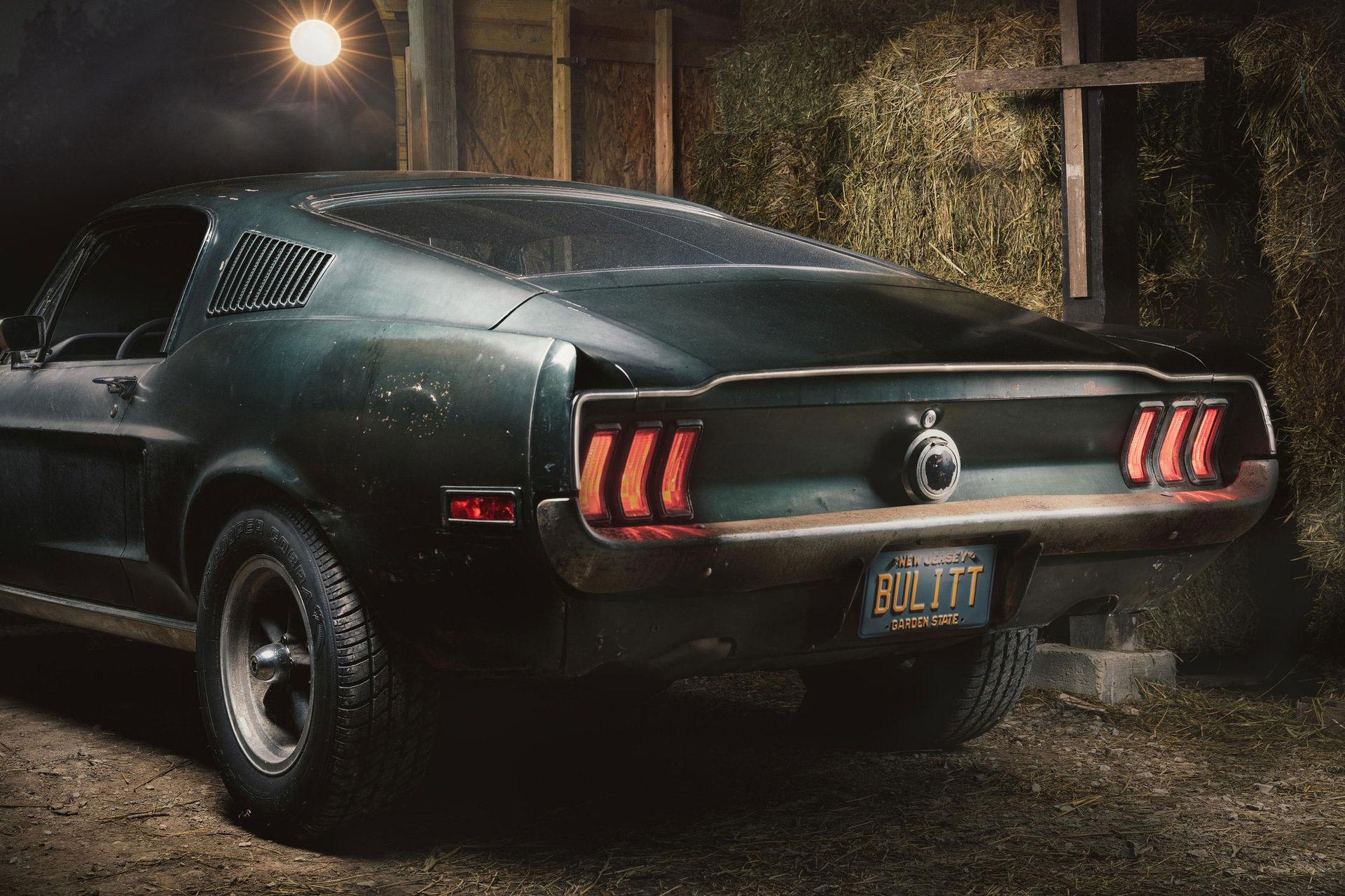 Steve McQueens Mustang Bullitt rullar fortfarande